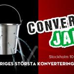 Lär dig omvandla dina besökare till kunder på Conversion Jam 3 den 10:e september